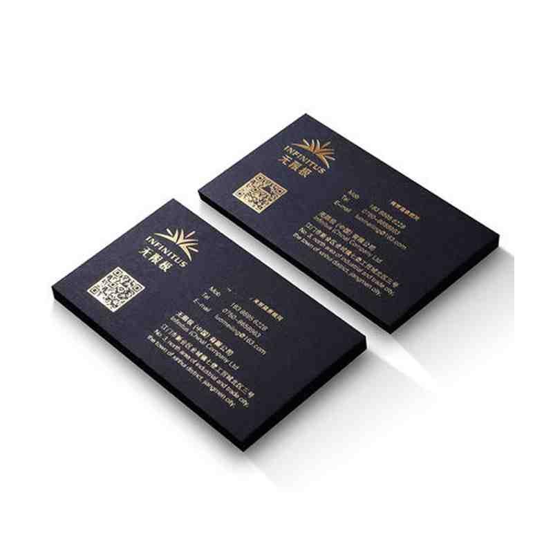 铜版纸名片设计两盒起印